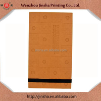 Promotion Portfolio Leather Cover Souvenir Book Design & Printing Daily Needed Product Notebook