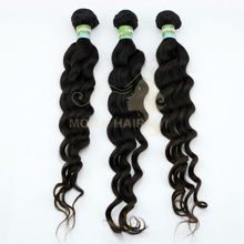 Most reliable china suppliers 5A raw virgin hair cambodian 100% loose human hair bulk extension