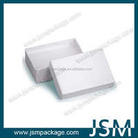Rectangle white present paper box for shirt classic style