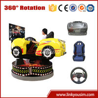 2015 popular 360 degree steering wheel simulators, 6d driving simulator electric car game 3gp games free downloads