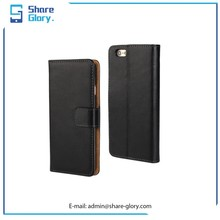 2015 Fashion Genuine Leather Wallet Case for Apple Iphone 6 02