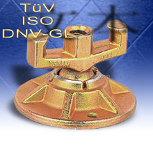 ISO & TUV & DNV & GL certificated open die forged flange seat parts