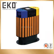 Plastic Wood Recycling Outdoor Dustbin