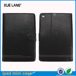 Unique style for ipad mini real case with wallet