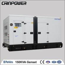 UK Perkins SILELNT 150kva diesel generator set 380 volt