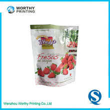Stand Up Zipper Compound Plastic Packaging Bags