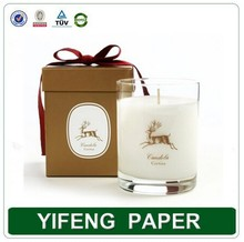 Luxury custom print candle gift packaging box