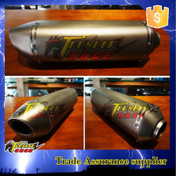 High quality stainless steel Racing Stainless Steel Streetbike Exhaust Universal Motorcycle