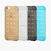 For iphone 6s Rock Cubee Series Block Grain TPU Mobile phone Case For iPhone 6S