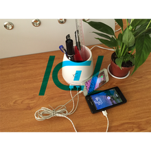 Pencil shaped 2-Ports Portable Multi USB Charger fast usb charger