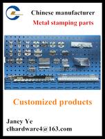 Zinc plated metal display stand