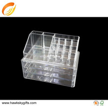 Cosmetic Clear Plastic Drawer Organizer