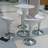 Nightclub ABS plastic stainless steel base dry bar table YT16