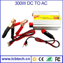 Low price portable off grid car power inverter 300w 12v 220v dc to ac converter