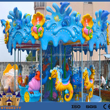 Attractive beautiful children games Ocean caousel house, ocean carousel rides