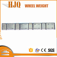 Hot sell fe adhesive wheel weight with zinc coated