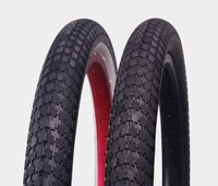 "P1042 20 Inch 2.35"" whitewall coloured bmx bike tires used bmx bike parts"