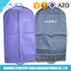Factory Direct Custom Printing Nonwoven Suit Cover Bag
