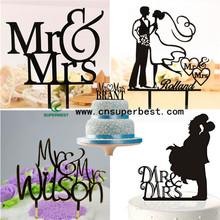 OEM/ODM Wholesale From China Acrylic Wedding Cake Topper