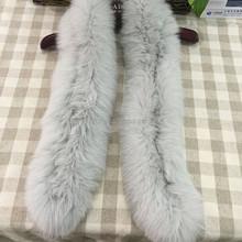 Factory Wholesale Fashion 100% Real Fox Fur Collar Neck Designs Collar For Ladies