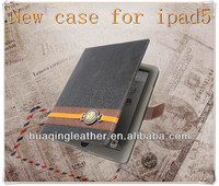 Tablet PC silicone back case for ipad5 with stand and wallet case for ipad5,newest case for ipad5
