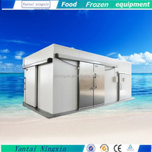Hot selling! Ningxin vegetable freezer room with bitzer water cooled condensing unit