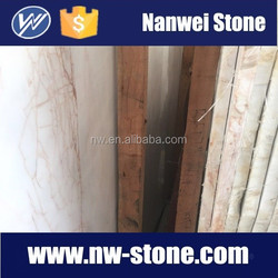 Red Of The red white jade marble, kitchen top,step stone,paving stone crema marble