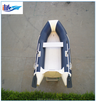2015 hot-sale fiberglass cheap used fishing dinghy for sale