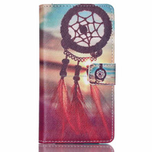 2015 New Products Flip Stand Leather Case for Huawei Ascend P8