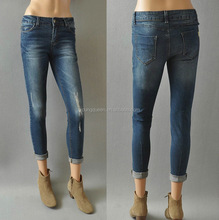 RM82 Exports to Europe and America Women's comfortable ultra-skinny leg jeans stretch pants