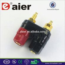 Daier High quality female 4mm electrical binding posts 12-24v dc 50amp