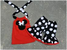 Niñas Boutique Remake sistemas de la ropa de los lunares de algodón atuendo Boutique de verano niñas ropa
