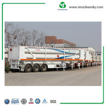 Container Semi CNG Jumbo Trailer for Gas Transportation Use