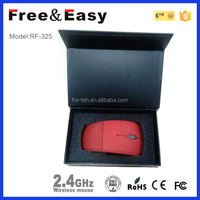 Special desgin unique 2.4g pretty laser mouse wireless v9 from Shenzhen
