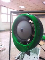 Summer wall mounted air cooler spraying mist fan