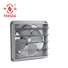 axial air exhaust fan for workshop dust removal