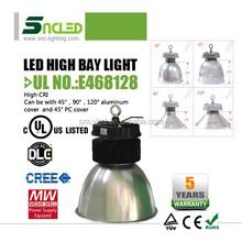 2015 hot new design UL DLC 5 years warranty 50W-200W industrial lighting led high bays