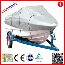 Hot High quality Light Fastness solution dyed polyester universal fit boat cover factory