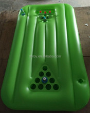 inflatable serving beer pong float pool table