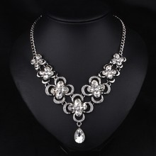 Crystal necklace jewelry Popular unique design wholesale
