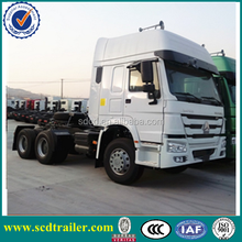 2015 low price China tractor truck 6x4 336hp on sale