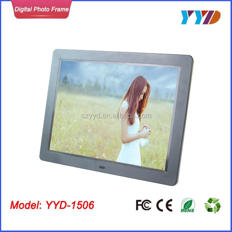 LCD grande LED Digital de Alta Definición Marco de fotos digital ...