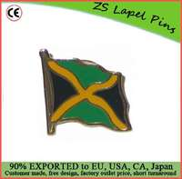 Custom high quality Jamaica Flag Lapel Pin