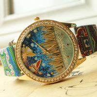 Wholesale Fashion Hand Watch For Girl 7style Stock Woman Watch