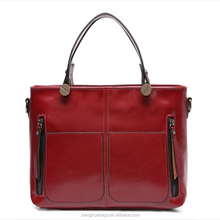 contracted and fashionable joker pu hand bags, shoulder aslant female bag.