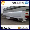 high quality China chengshida brand new 3 axles 50000l oil tank trailer