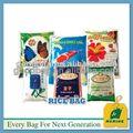 Pp saco de farinha/arroz pp sacos de tecido para a embalagem de arroz