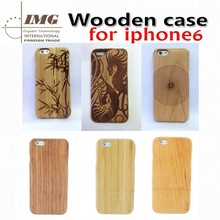 2015 innovative products Bamboo Wooden cell phone case for iphone 6 high quality