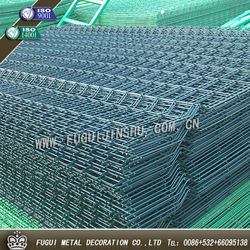 New type hot dip galvanized welded wire mesh fence panels