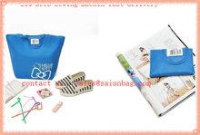 Fashion beautiful embossing factory supply shopping bag